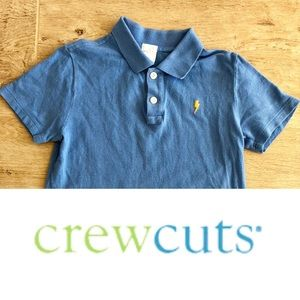 J.Crew Crewcuts Polo Shirt Size boys 6/7
